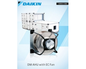 Daikin AHU with EC Fan